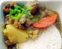 快手菜 咖喱土豆鸡的做法